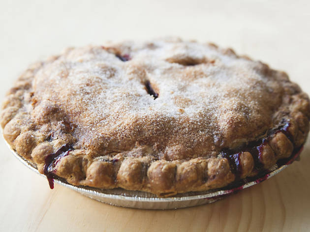 Blueberry pie from Yura on Madison