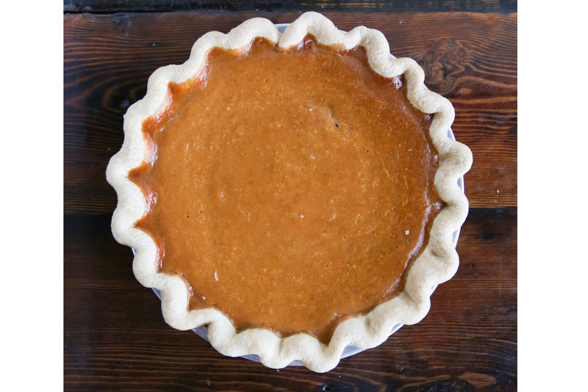 The Pie Hole pumpkin pie