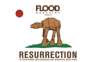 Resurrection: A Star Wars Influenced Art Show by Sket One