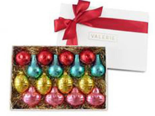 Valerie Confections ornament box
