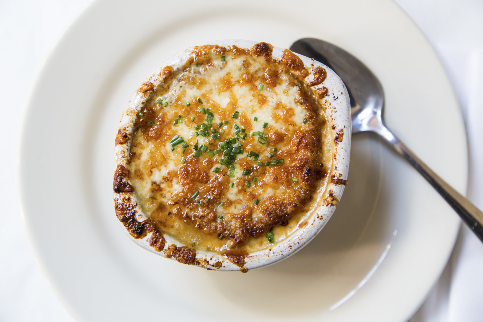 French Onion Soup at Bistro Campagne