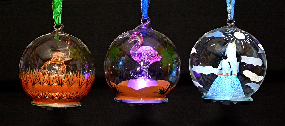LA Zoo Animal Ornaments