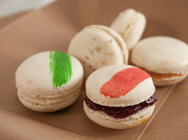 Macarons at Slurping Turtle