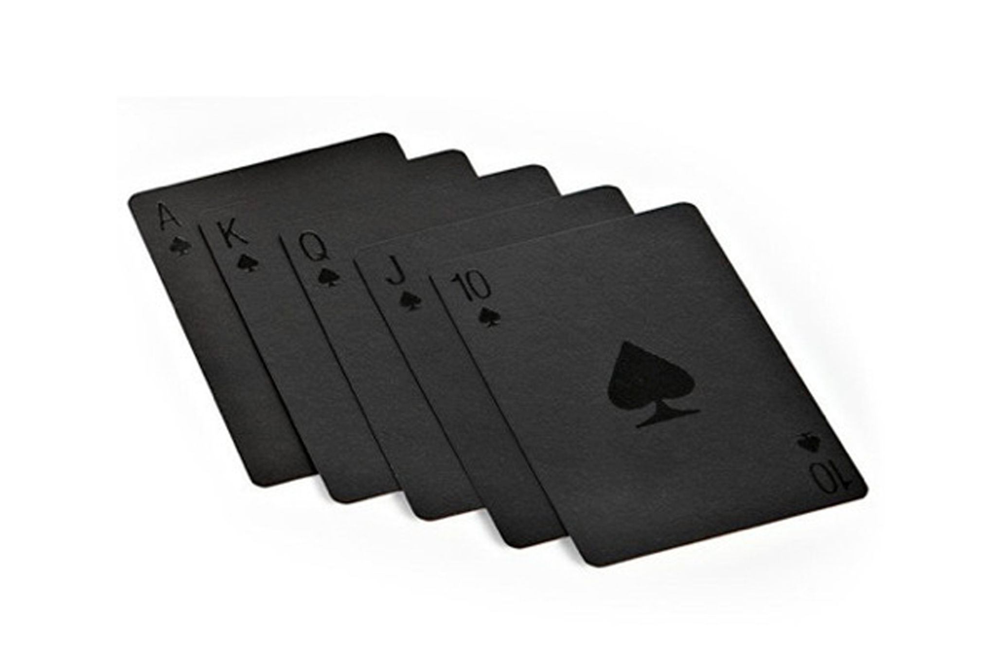 Molla Space sexy black playing cards
