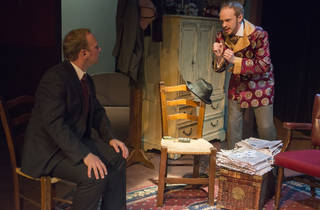 Sherlock Holmes and the Case of the Christmas Goose at Raven Theatre