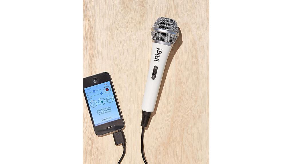 iRig Karaoke microphone, $40, at urbanoutfitters.com