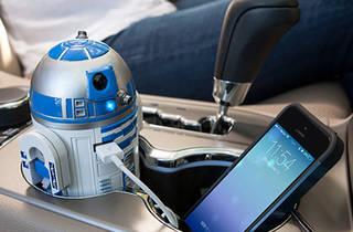 R2 D2 USB Car Charger, $40, at thinkgeek.com
