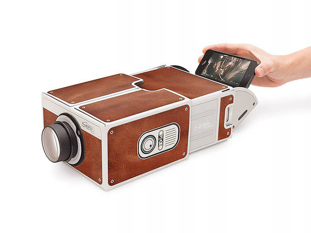 Smartphone Projector 2.0, $40, at thisisstory.com