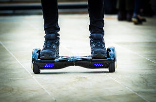 Turning its back on the future, NYC declares fake hoverboards illegal