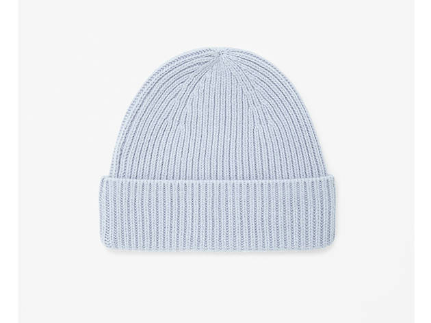 COS rib knit wool hat, $39, at cosstores.com