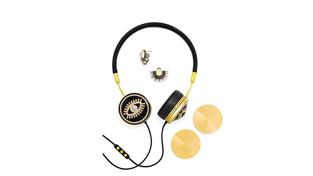 FRENDS x BaubleBar Fortuna Layla headphones, $175, at baublebar.com
