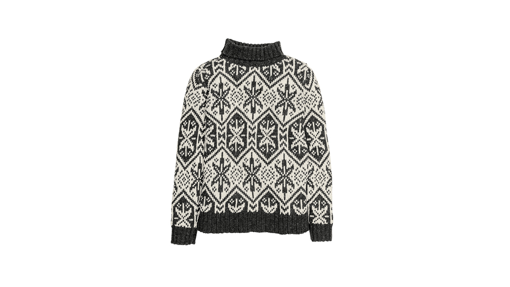 H&M Jacquard knit sweater, $40, at hm.com