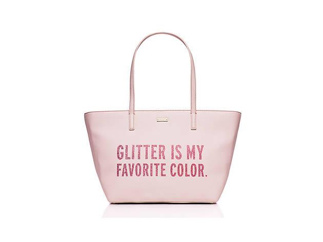 Kate Spade All That Glitters small Harmony bag, $198, at katespade.com