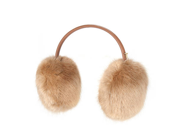 Ted Baker Toree faux fur earmuffs, $50, at tedbaker.com