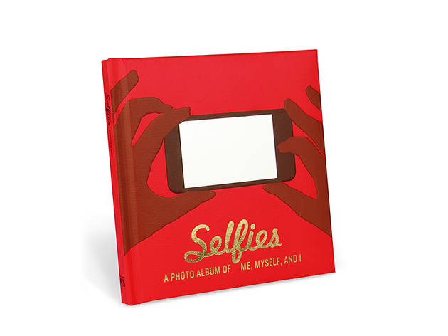 Knock Knock Selfies photo album, $12, at knockknockstuff.com
