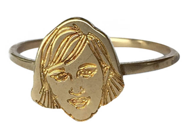 Verameat Lena Dunham celebrity ring, $48, at verameat.com