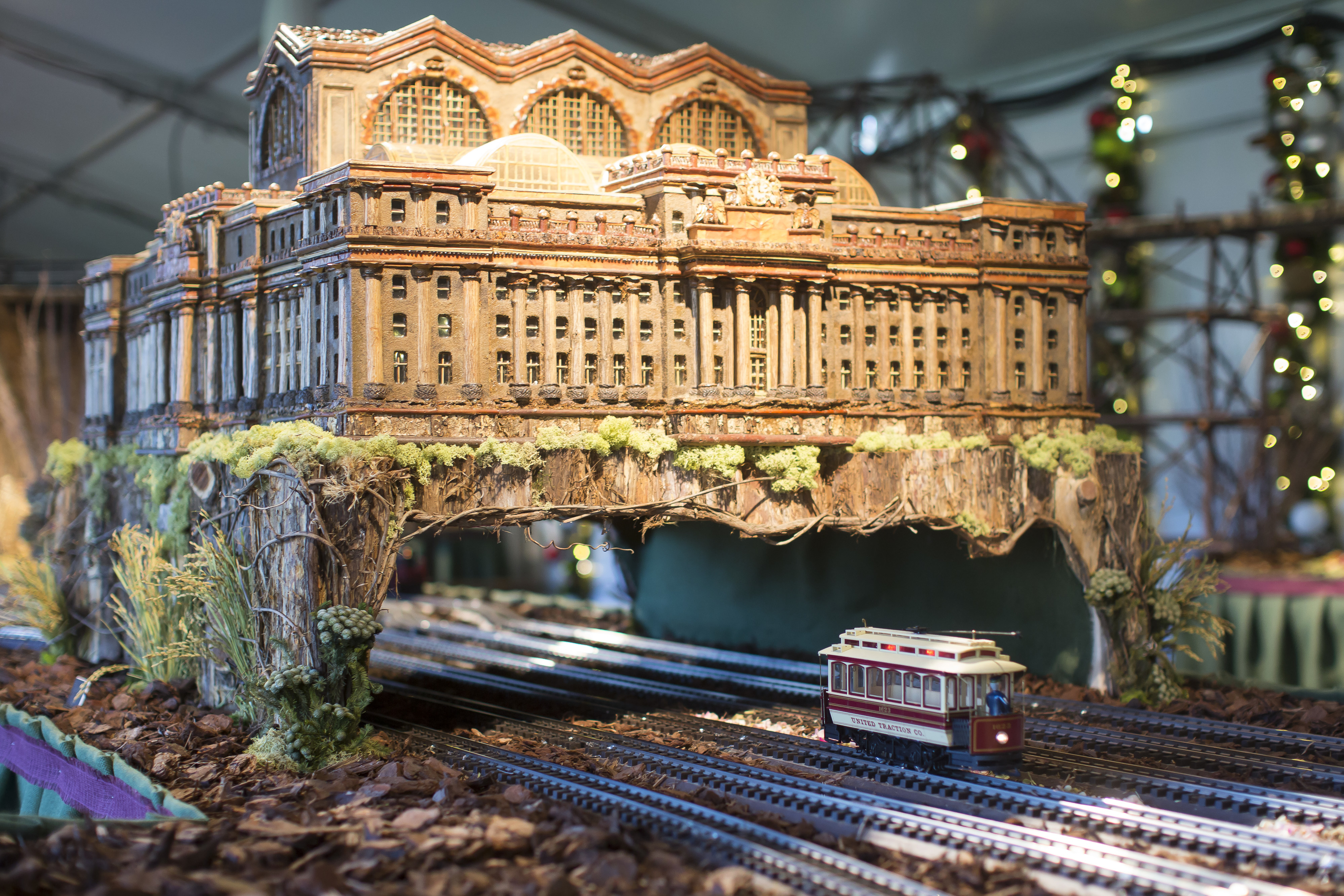 nybg train show 2015 - Bronx Botanical Garden Train Show