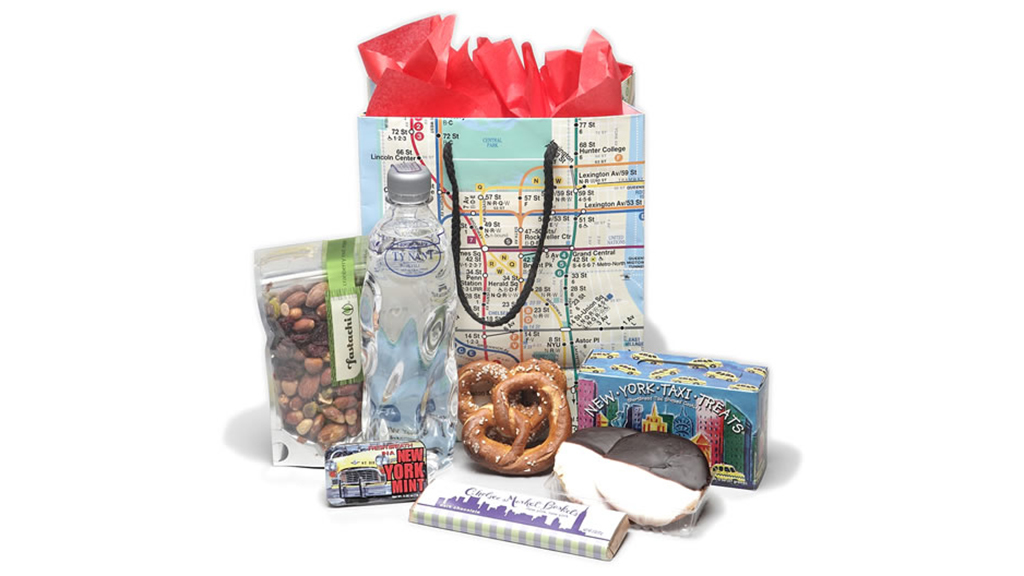 NYC gifts for the holidays that feature iconic city themes
