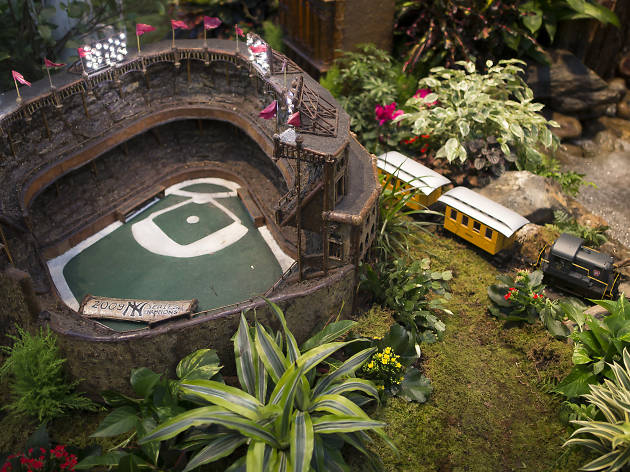 Check out awesome photos of this year's New York Botanical Garden train show