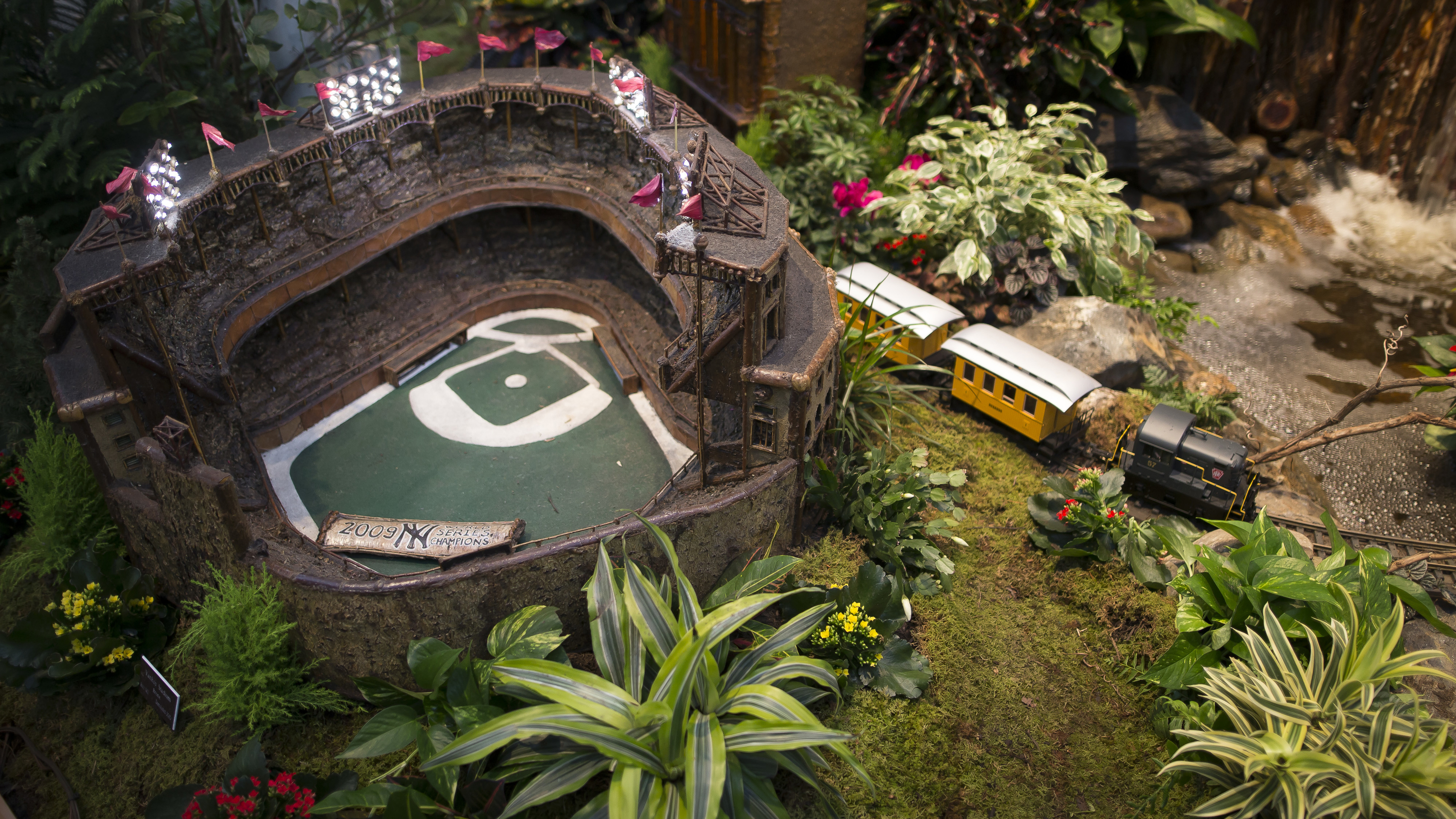 Photos of the new york botanical garden train show Botanical garden train show