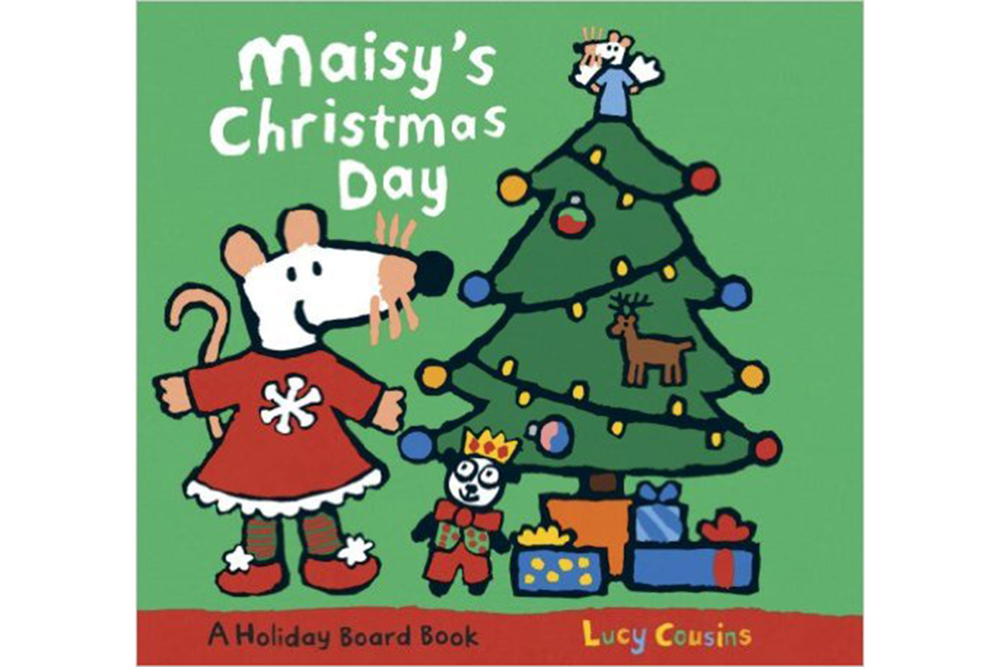 maisys christmas day by lucy cousins