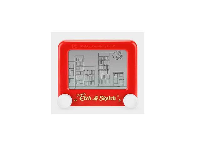 Travel-size Etch A Sketch