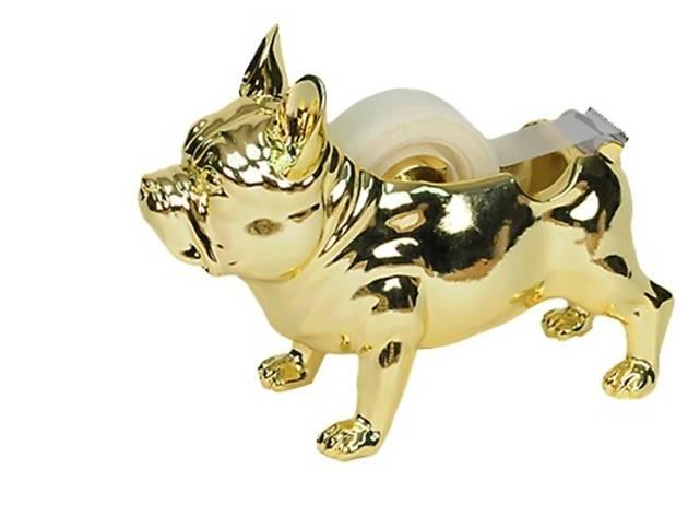 Threshold French bulldog tape dispenser