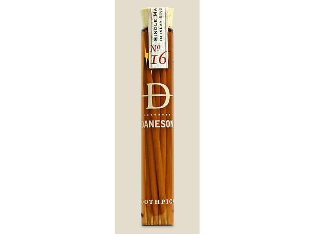 Daneson Scotch-flavored toothpicks