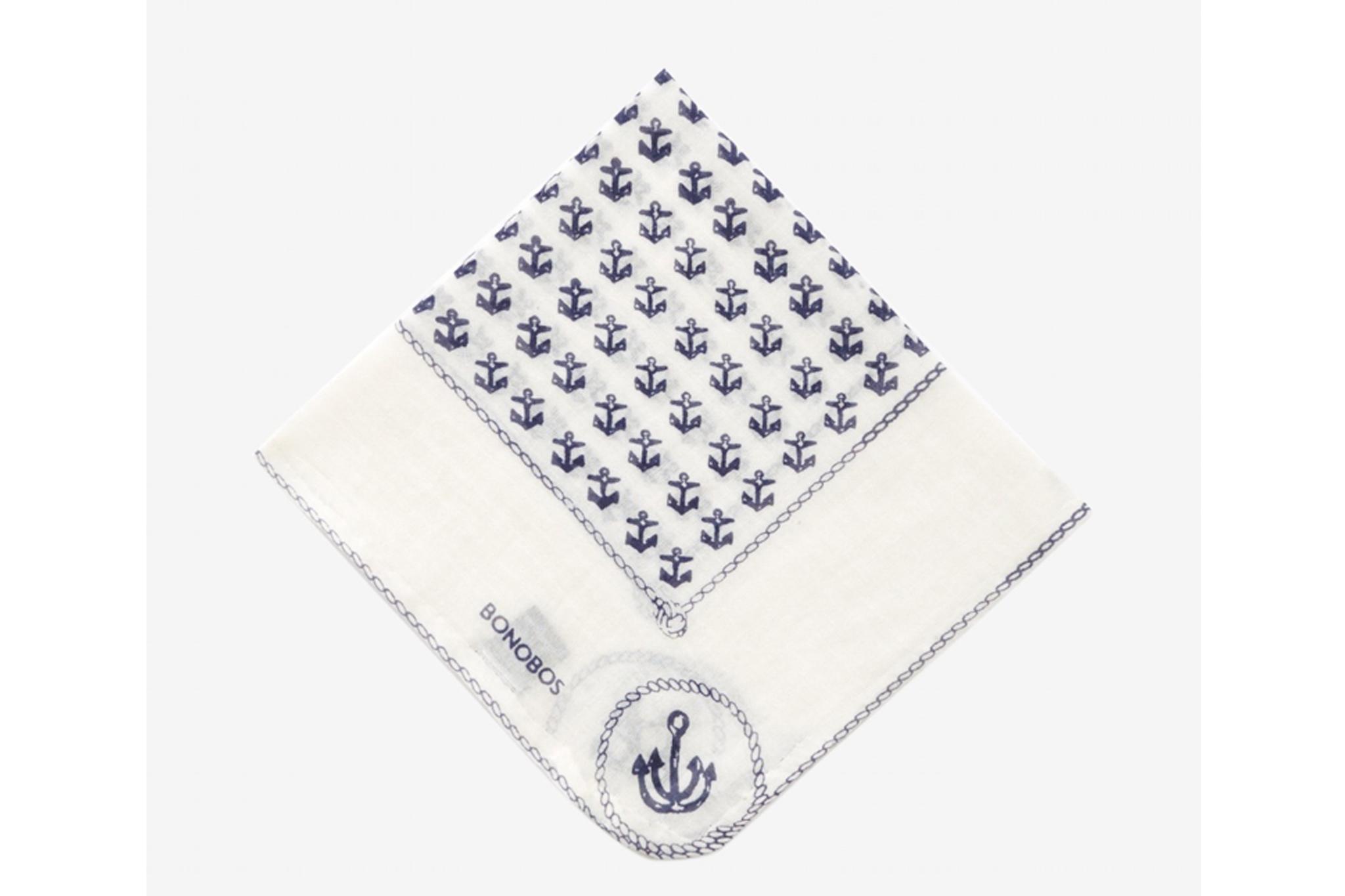 Cotton pocket square