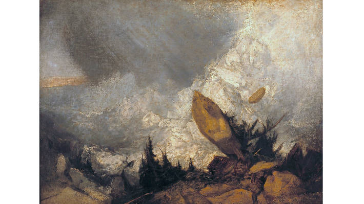 Joseph Mallord William Turner, 'The Fall of an Avalanche in the Grisons', 1810