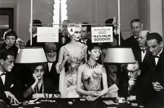 (Richard Avedon, Sunny Harnett And Alla, Evening Dresses By Balmain, Casino, Le Touquet, August 1954)