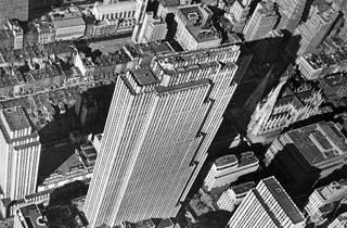 (Margaret Bourke White, Aerial View Of Rockefeller Centre, 1939)