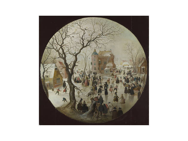 Hendrick Avercamp, 'A Winter Scene with Skaters', 1609