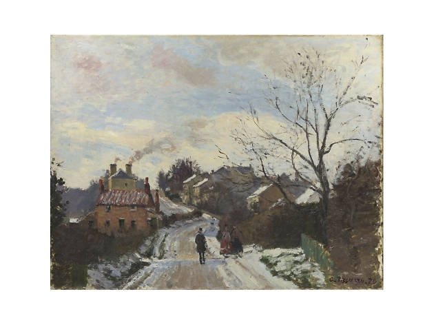 Camille Pissarro, 'Fox Hill, Upper Norwood', 1870
