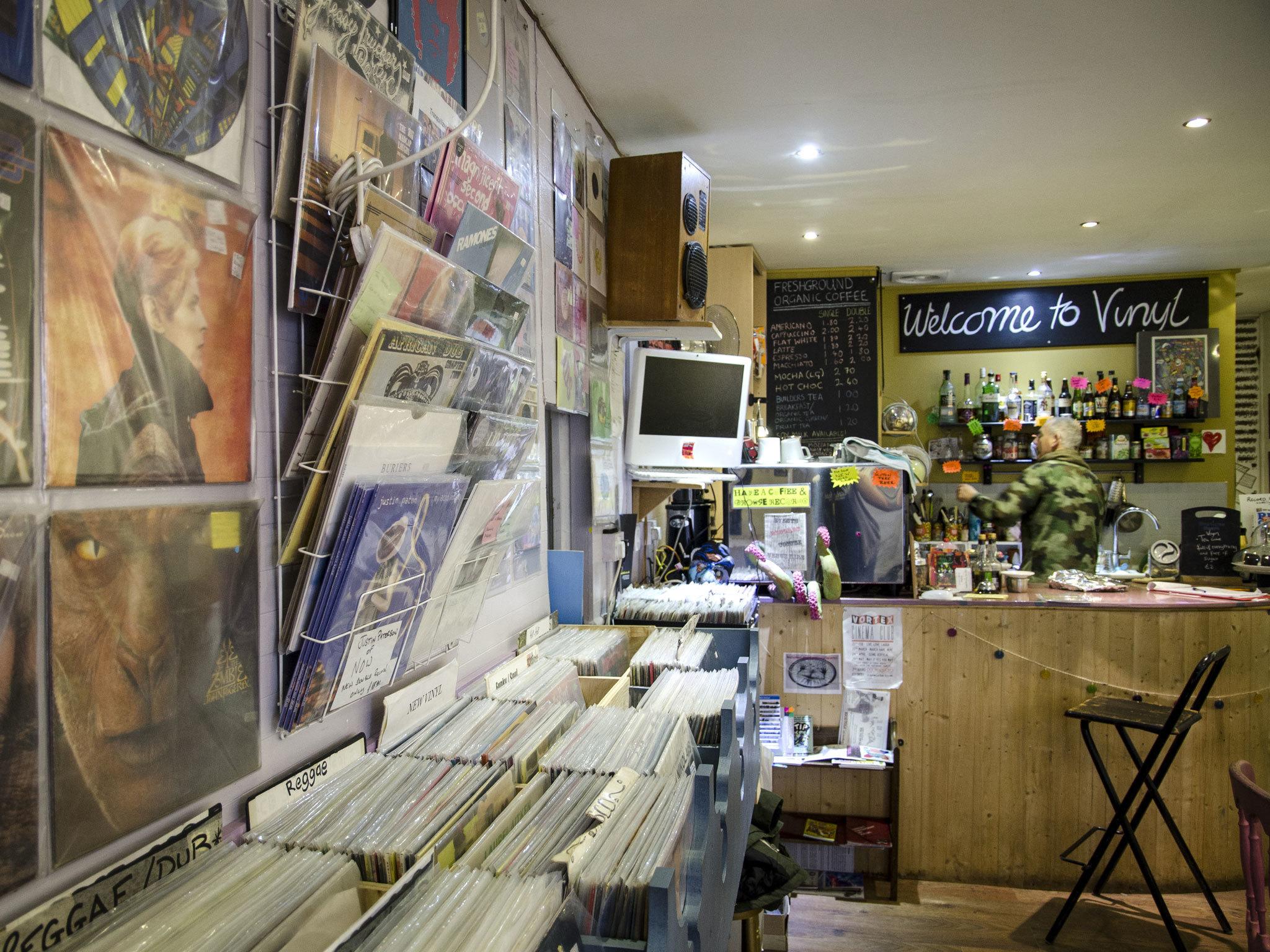 Vinyl Shopping In Deptford London