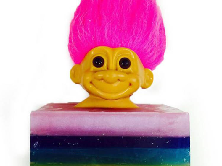 Dirty Grl Lucky Troll Doll Vegan Bar Soap