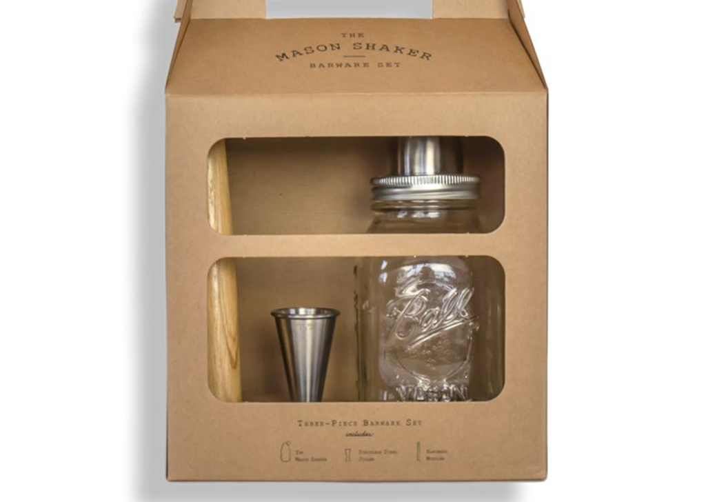 W and P Design Barware Set