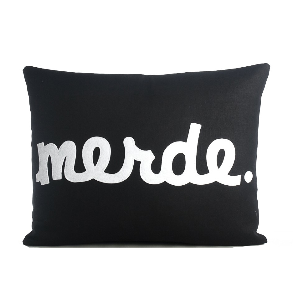 Beam Merde Pillow