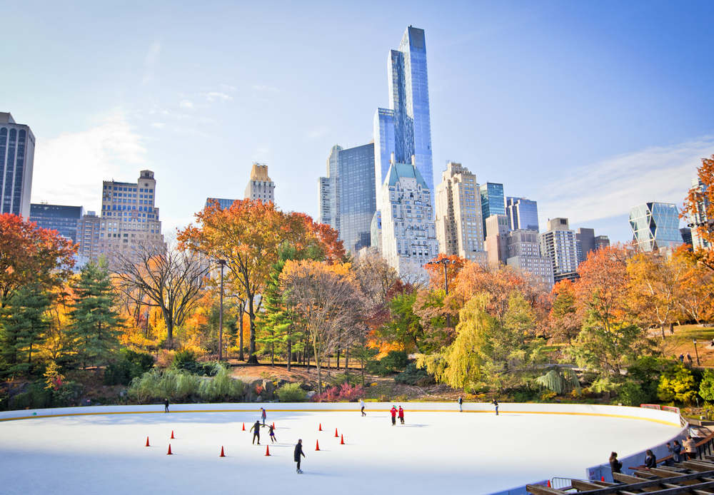 The best places to go ice-skating in NYC this winter