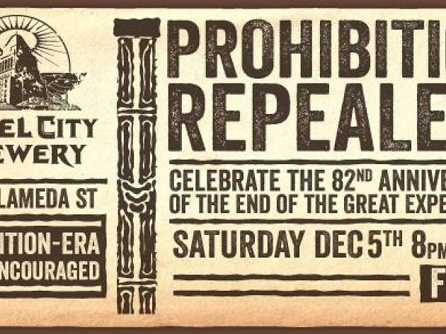 Prohibition Repeal Day at Angel City Brewery