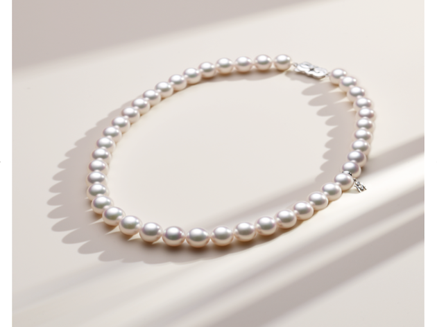 Finish your look with pearls