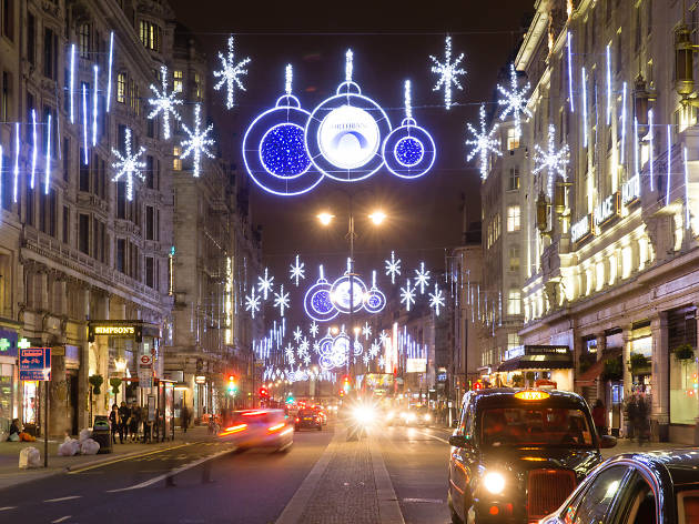 Christmas Lights on the Strand