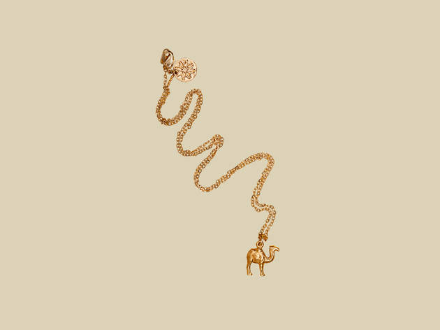 Camel pendant on chain