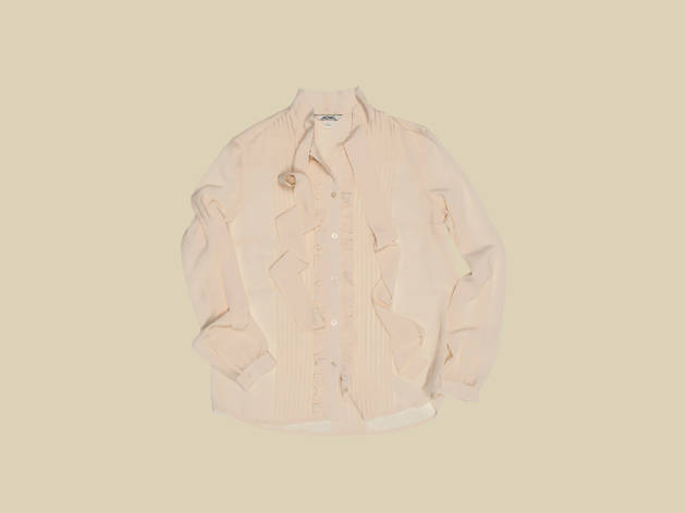 Veronica sheer blouse by Monki