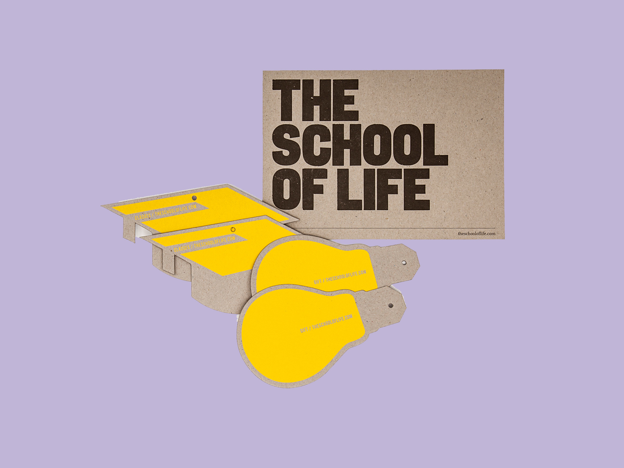 Christmas gift guide: postable presents  - school of life vouchers