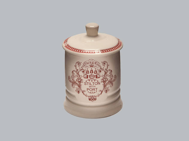 Christmas gift guide: foodies and boozies- fortnum and mason traditional stilton in ceramic jar