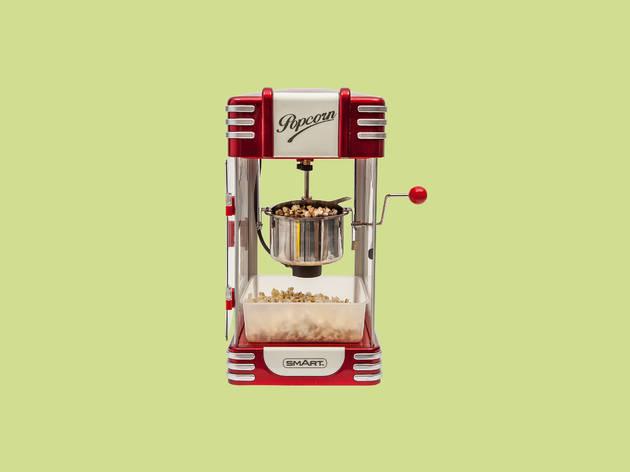 1950s-style popcorn maker