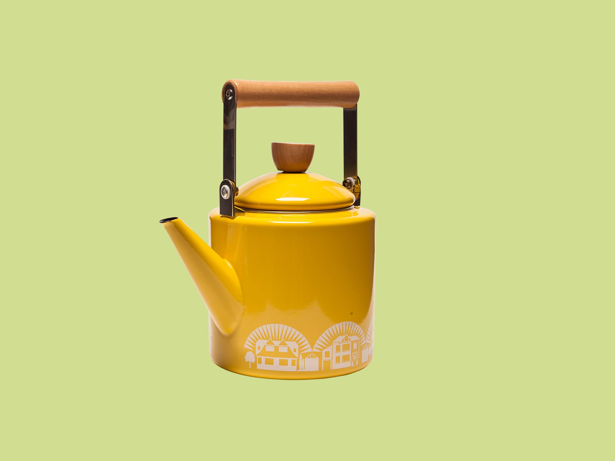 Enamelware kettle