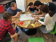 Board School for board games