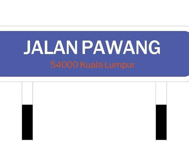 Jalan Pawang (Kampung Datuk Keramat)
